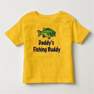Daddy's Fishing Buddy Toddler T-shirt