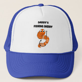 Daddy's Fishing Buddy Trucker Hat