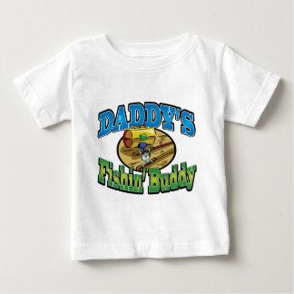 Daddy's fishing buddy t shirts
