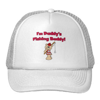 Daddy's Fishing Buddy Tshirts and Gifts Mesh Hats
