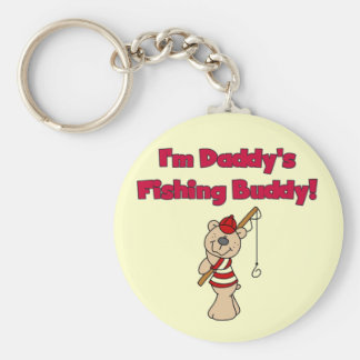 Daddy's Fishing Buddy Tshirts and Gifts Key Chains