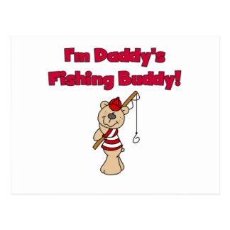 Daddy's Fishing Buddy Tshirts and Gifts Post Card