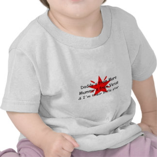Daddy's from Mars, Mummy's from Venus Baby T-shirt