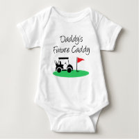 Daddy's Future Caddy Golf Baby Bodysuit