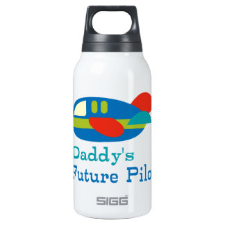 Daddy's Future Pilot Insulated Water Bottle
