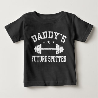 Daddy's Future Spotter Baby T-Shirt