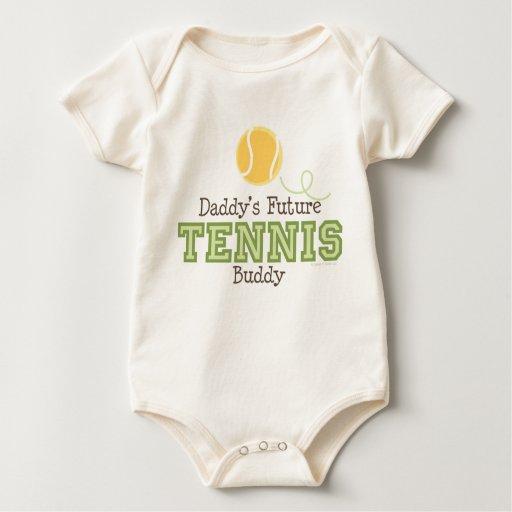 Daddy's Future Tennis Buddy Baby Baby Creeper