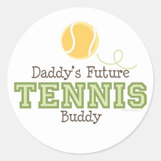Daddy's Future Tennis Buddy Sticker