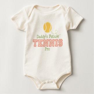 Daddy's Future Tennis Pro Infant Creeper