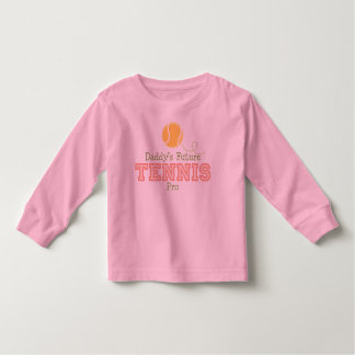 Daddy's Future Tennis Toddler Long Sleeve Tee