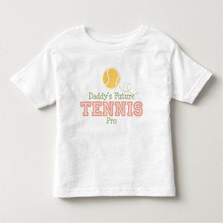 Daddy's Future Tennis Toddler T shirt