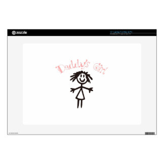 """Daddy's Girl 15"""" Laptop Decals"""