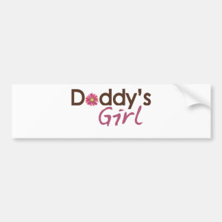Daddy's Girl Car Bumper Sticker