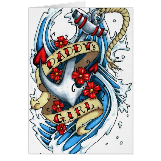 daddy's girl card