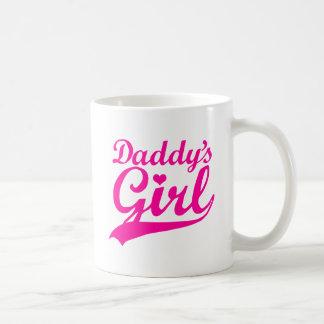 Daddy's Girl Classic White Coffee Mug