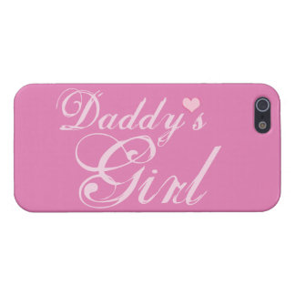 Daddy's Girl Cover For iPhone SE/5/5s