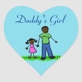 Daddy's Girl Custom Family Character Decal Sticker
