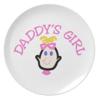 Daddys Girl Dinner Plate