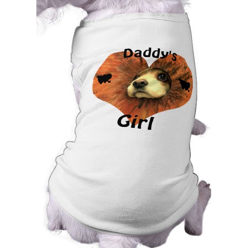 Daddy's Girl Doggie Shirt