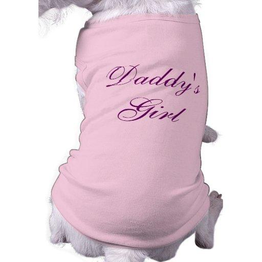 Daddy's Girl Doggie Tee Shirt