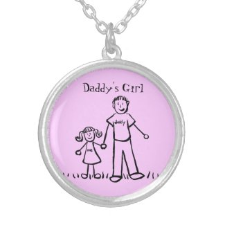 Daddy's Girl Father and Daughter Necklace Jewelry