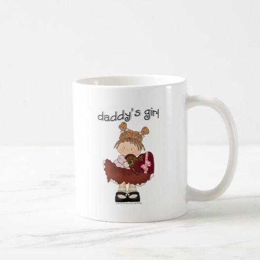 ♥ daddy's girl ♥ girly giggles coffee mug