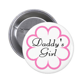 Daddys Girl In Flower Pins