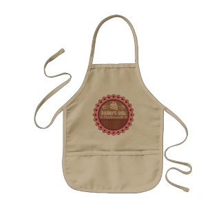 Daddys Girl Made From Scratch Funny Kids' Apron