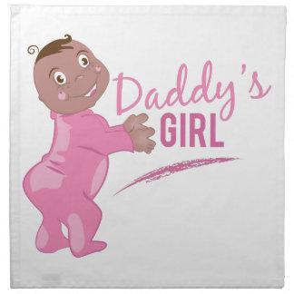 Daddys Girl Napkin