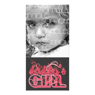 DADDY'S GIRL PHOTOCARD CARD