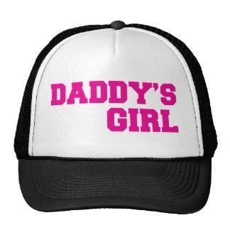 daddys girl pink trucker hat