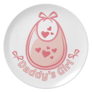 Daddys Girl Dinner Plates