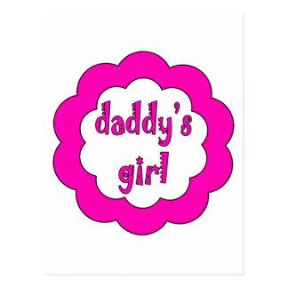 Daddy's Girl Postcard