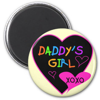 Daddy's Girl T Shirts, Mugs, Pillows, Stationary 2 Inch Round Magnet