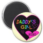 Daddy's Girl T Shirts, Mugs, Pillows, Stationary Fridge Magnet