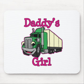 Daddy's Girl Truck Driver Mouse Pad