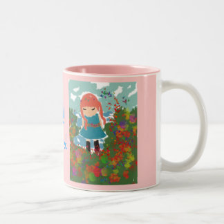 Daddy's girl Two-Tone coffee mug