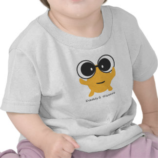 Daddy's Glasses with cute anime character Tees