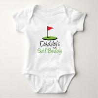 Daddy's Golf Buddy Baby Bodysuit