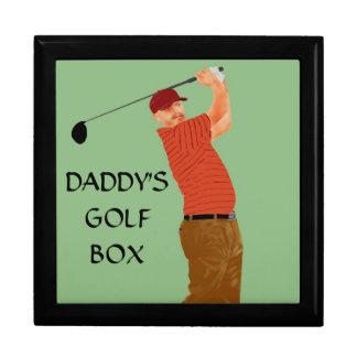 """DADDY'S GOLF GOX"" KEEPSAKE BOX"