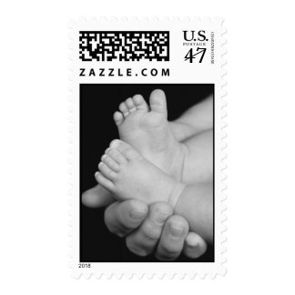Daddy's Hands Baby Shower US Postage Stamp
