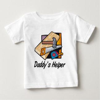 Daddy's Helper Carpentry Baby T-Shirt