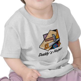 Daddy's Helper Carpentry Tee Shirt