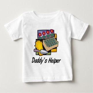 Daddy's Helper Gardening Baby T-Shirt