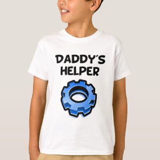 Daddy's Helper Gear T-Shirt