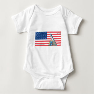 Daddy's Home 9/11 Tribute Baby Bodysuit