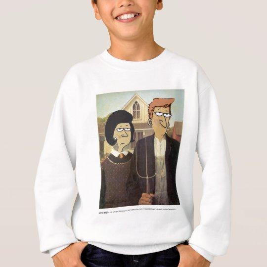 Daddy's Home American Gothic Sweatshirt