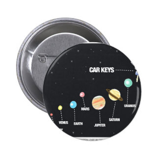 Daddy's Home Car Keys Lost In Space Pinback Button