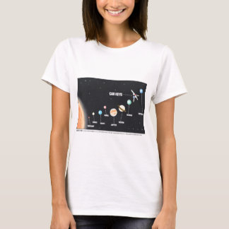 Daddy's Home Car Keys Lost In Space T-Shirt