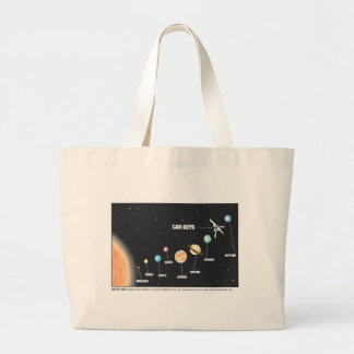 Daddy's Home Car Keys Lost In Space Tote Bag